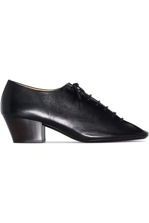 LEMAIRE 50mm square-toe derby shoes