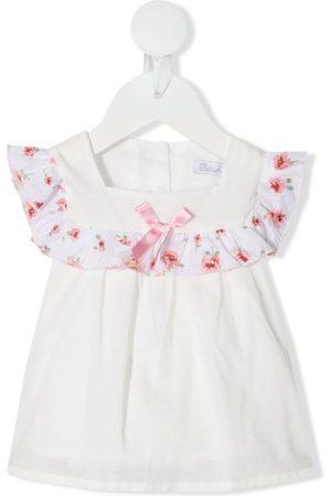 PATACHOU Baby Blusen - Ruffle-trim cotton blouse