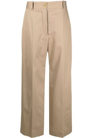 Patou Wide-leg tailored trousers