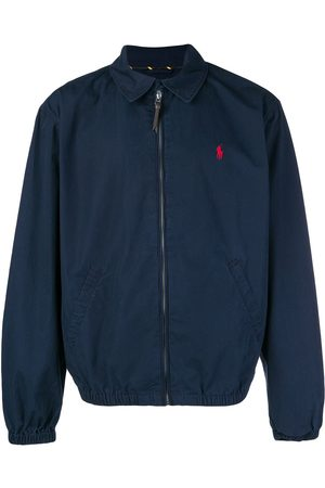 Polo Ralph Lauren Logo zipped bomber jacket
