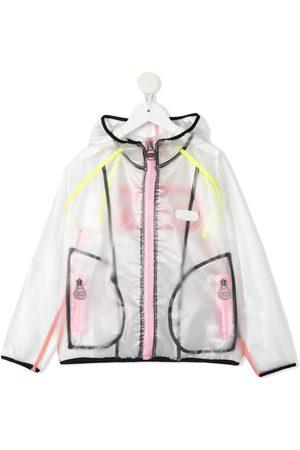 GCDS Logo-print hooded jacket