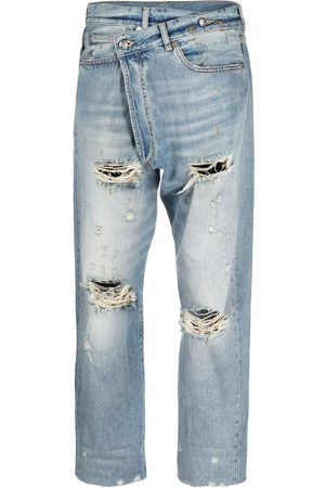 R13 Damen Straight - High-rise straight-leg jeans