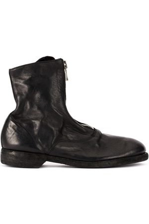 GUIDI Damen Stiefeletten - Soft zip front ankle boots