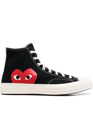 COMME DES GARÇONS PLAY X CONVERSE Sneakers - X Converse high-top sneakers