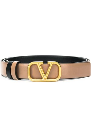 VALENTINO GARAVANI Logo plaque belt
