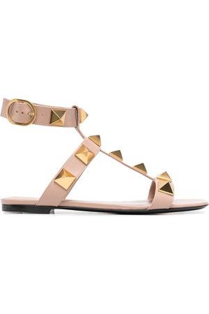 VALENTINO GARAVANI Damen Sandalen - Rockstud-detail open-toe sandals