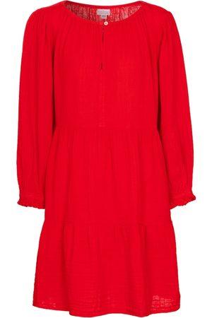Velvet Minikleid Mirella aus Baumwoll-Gaze