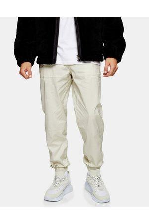 Topman Relaxed trousers in ecru-Cream