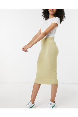 Y.A.S . knitted co-ord midi skirt in