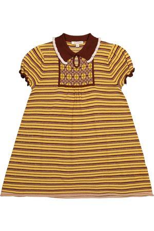 Caramel Kleid Narwhale aus Merinowolle