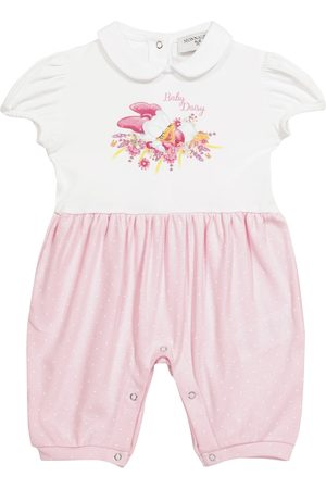 MONNALISA X Disney® Baby Strampler aus Baumwolle