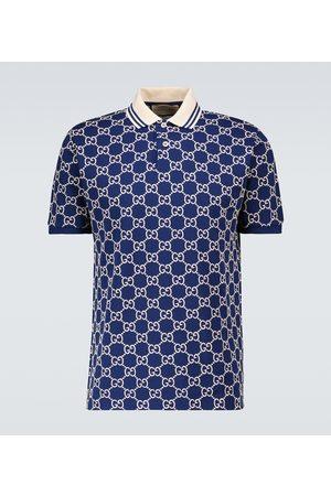 Gucci Poloshirt GG aus Stretch-Baumwolle