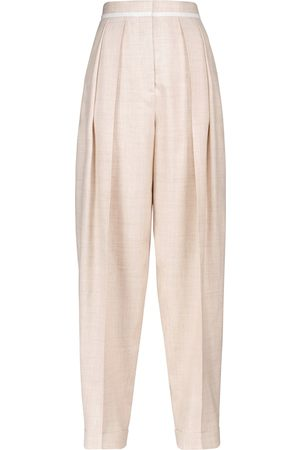 Stella McCartney High-Rise-Hose Ariana