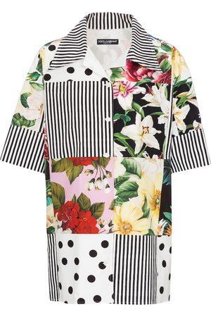 Dolce & Gabbana Bedrucktes Hemd aus Baumwolle