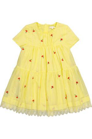 Chloé Besticktes Kleid aus Baumwolle
