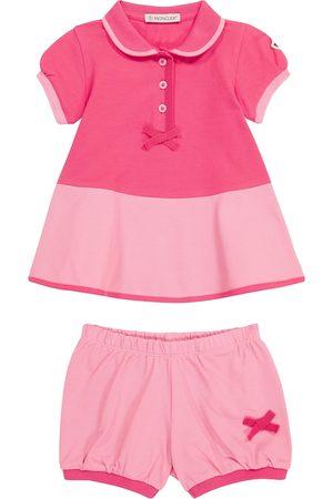 Moncler Baby Set aus Kleid und Höschen