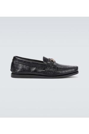 YUKETEN Loafers Bit aus Leder