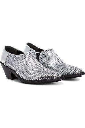 JUNYA WATANABE Ankle Boots mit Pailletten