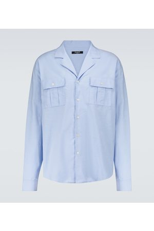 Balmain Revershemd aus Baumwolle