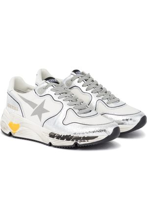 Golden Goose Sneakers Running Sole mit Leder