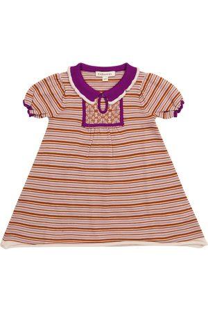 Caramel Baby Kleid Narwhale aus Merinowolle