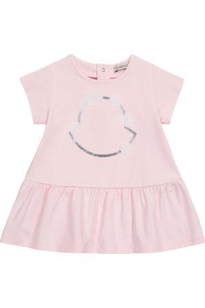 Moncler Baby Kleid aus einem Baumwollgemisch