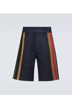 ADISH Gestreifte Shorts Majdalawi