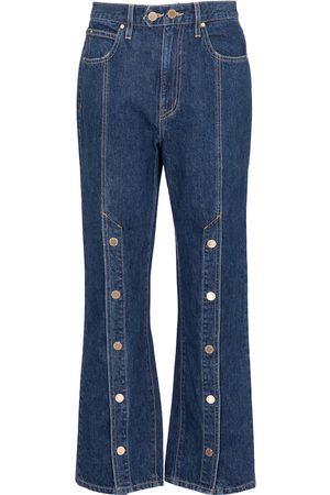 SLVRLAKE X ELLERY High-Rise Straight Jeans Stagecoach