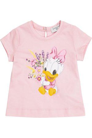 MONNALISA Baby T-Shirt aus Baumwoll-Jersey