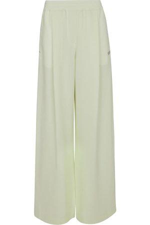 OFF-WHITE Hose mit weitem Bein aus Cady