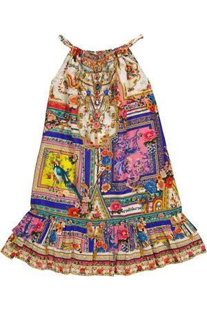 Camilla Kleid aus Baumwolle und Seide