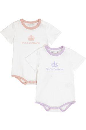 Dolce & Gabbana Baby Set aus zwei Bodys