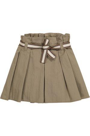 Brunello Cucinelli Shorts aus Baumwoll-Gabardine