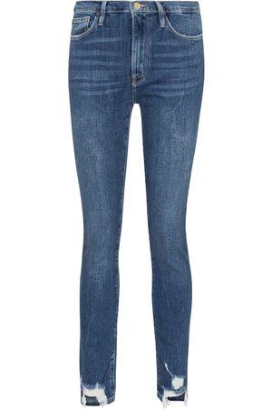 Frame High-Rise Jeans Le Skinny