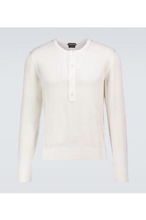 Tom Ford Pullover aus Baumwolle und Seide