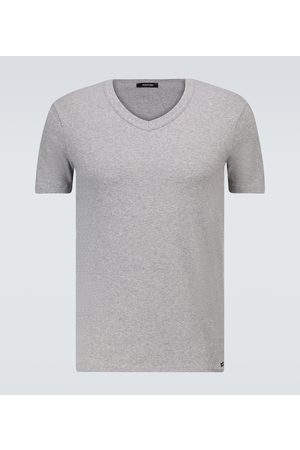 Tom Ford T-Shirt aus Stretch-Baumwolle