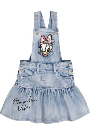 MONNALISA X Disney® Verziertes Jeanskleid