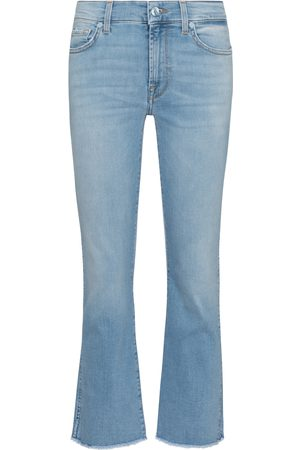 7 for all Mankind Mid-Rise Cropped Jeans