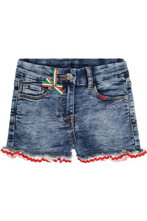 MONNALISA Verzierte Jeansshorts