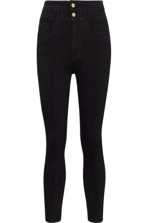 Frame High-Rise Skinny Jeans Le Catroux
