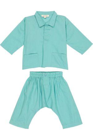 Caramel Baby Set Manta Ray aus Hemd und Hose