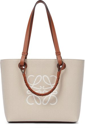 Loewe Tote Anagram Small aus Canvas