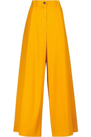 DRIES VAN NOTEN High-Rise-Hose mit Wollanteil