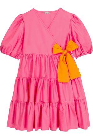 Il gufo Kleid aus Baumwolle
