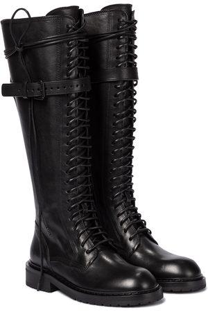 ANN DEMEULEMEESTER Stiefel aus Leder