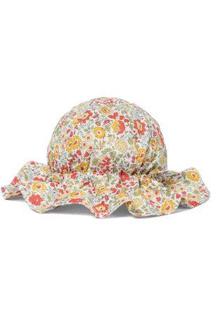 Caramel Mädchen Hüte - Bedruckter Hut Marlin aus Baumwolle