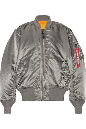 Alpha Industries MA-1 Flight Jacket in - Grey. Size L (also in XS, S, M, XL).