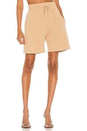 AGOLDE Boxing Short in - Nude. Size L (also in XS, S, M, XL).
