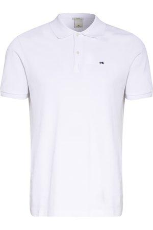 Scotch&Soda Herren Poloshirts - Piqué-Poloshirt weiss