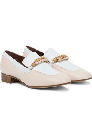 Loro Piana Loafers Sailor Knot aus Leder